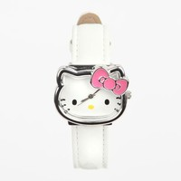 Hello Kitty Watch: Silver Outline