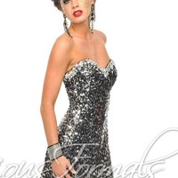 Precious Formals C10505 at Prom Dress Shop
