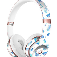 Hipster Feather Pattern Full-Body Skin Kit for the Beats by Dre Solo 3 Wireless Headphones