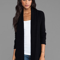 360 Sweater Aries Wool Cashmere Cardigan in Black from REVOLVEclothing.com
