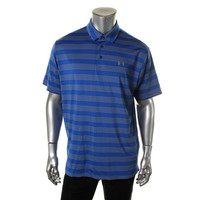 Under Armour Mens Striped Short Sleeves Polo