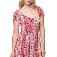 LA Hearts V-Neck Fit and Flare Skater Dress at PacSun.com