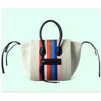 CELINE BOSTON BAGS WOMANS BAG 100% TOP LEATHER HANDBAGS