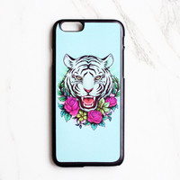 Floral Tiger iPhone Case