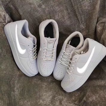 Nike Air Force 1 Reflective Sneakers