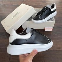 Alexander Mcqueen Casual Little White Shoes-6