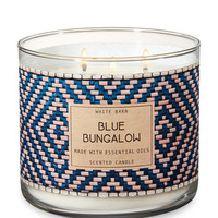 BLUE BUNGALOW3-Wick Candle