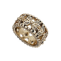 Cut Out Detail Midi Band Ring - Jewelry  - Bags & Accessories