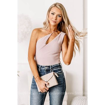 Forever Young Strappy One Shoulder Bodysuit
