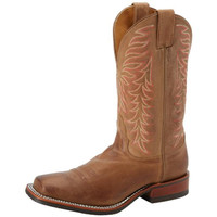 Nocona Boots Womens Vintage Leather Square Toe Cowboy, Western Boots