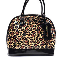 Loungefly – Hello Kitty Leopard Paten Embossed Tote Bag In Leopard | Thirteen Vintage