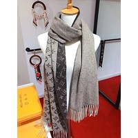 Fashion Men Women Letter Print Cashmere Scarf Scarves