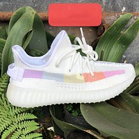 ADIDAS Yeezy 350 v2 Hot sale classic men's and women's casual shoes sneakers