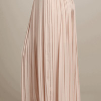 Pleated Maxi Skirt | HGB56