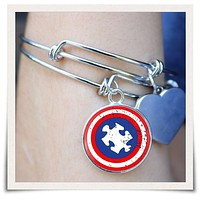 Autism Awareness Bangle