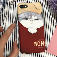 Women Marble iPhone 7 7Plus & iPhone se 5s 6 6 Plus Case Cover +Gift Box-184
