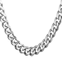 Stainless Steel Cuban Link Chains