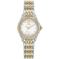 Ladies' Citizen Signature Versailles Two-Tone Diamond Watch