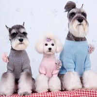 Loose Fitting Sweater for Adorable Dog Fashion & Online Pet Clothes Store SIZE 1-Color Gray