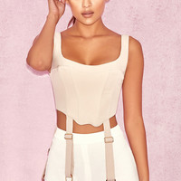 Clothing : Tops : 'Altana' Nude Riding Corset