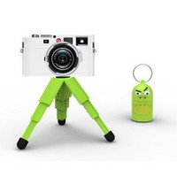 Quirky DIG-1-SNT Digidudes Camera Tripod and Keychain (Green)