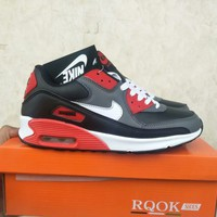 """""""Nike Air Max 90"""" Unisex Casual Fashion Multicolor Air Cushion Sneakers Couple Running Shoes"""