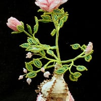 Pink rose, flower of love, gift for beloved, for girls and women, for mother, bouquet of roses
