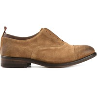 Smith's distressed oxford shoes
