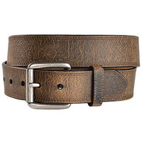 Ariat Men's Work Tri Stitch Western Leather Belt-Age Bark