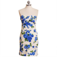 bella bluebird strapless dress - $38.99 : ShopRuche.com, Vintage Inspired Clothing, Affordable Clothes, Eco friendly Fashion