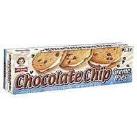 Little Debbie Chocolate Chip Creme Pie 6 Cartons of 8 Snacks Each (48 total)