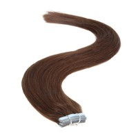 Tape in Hair Extensions   18 inch   20ps   50g   Darkest Brown (2)