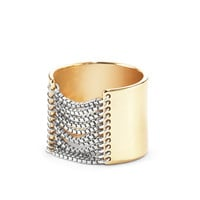 Jenny Bird Chloe Ring - Tall Two Tone