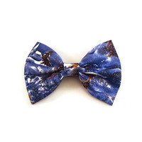Snow Hair Bow • Christmas Bow • Winter Bow • Snowflake Bow • Stocking Stuffers • Christmas Gifts • Santa Gifts • Glitter Bow • Gifts under 5