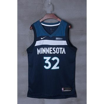 Minnesota Timberwolves #32 Karl-Anthony Towns Nike Icon Edition NBA Jerseys