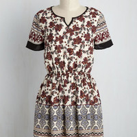Italian Soda Search Floral Dress | Mod Retro Vintage Dresses | ModCloth.com