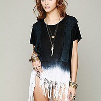 Free People  Rough Rider Ombre Tee at Free People Clothing Boutique