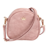 New Fashion Designer Handbag Phone Purse Women Small Bag Imperial Crown Women Messenger Bag Shoulder Crossbody Bag PU Leather