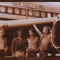 Led Zeppelin Airplane Poster 24x36