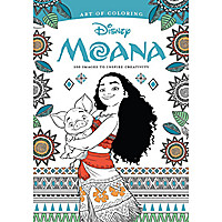 Disney Moana: Art of Coloring Book