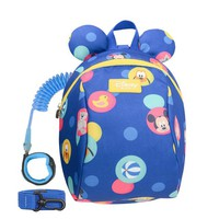 Toddler Backpack class Disney Toddler Anti Lost Backpack Cartoon Antilost Link Children Schoolbag Walking Strap Leashes AT_50_3