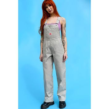 Super Over It Deadstock Baggy Overalls - Khaki