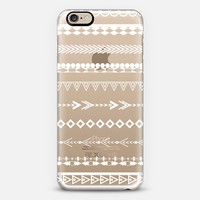 White Boho Pattern iPhone 6s case by Organic Saturation | Casetify