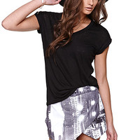 LA Hearts Extreme Roll Sleeve Tee at PacSun.com