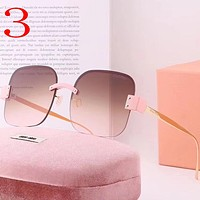 Miu Miu Fashion Women Summer Sun Shades Eyeglasses Glasses Sunglasses