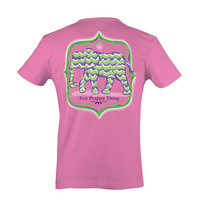 Itsa girl Thing Southern Collection Elephant Alabama Preppy Thing Bright T Shirt