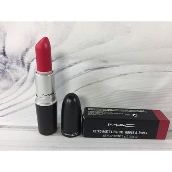 Mac Retro Matte Lipstick 0.1oz/3g - All Fired Up #701