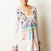 Embroidered Utara Cover-Up by Anthropologie White L Swimwear