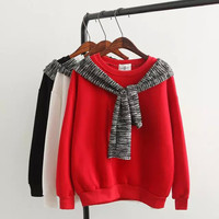 knitted Bow-Tie Sweater