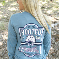Rooted In The South Tee - Jadelynn Brooke